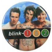 Blink 182 - 'Group Tattoos' Button Badge